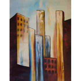 Ντιέγκο Ροντρίγκεζ - Γκρίζα Πόλη 2 - 70x100 cm (ΧΩΡΙΣ ΤΕΛΑΡΟ)