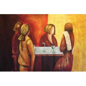 Ντομινίκ - Τσάι στο Παρίσι 3 - 70x140 cm (ΧΩΡΙΣ ΤΕΛΑΡΟ)