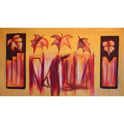 Τόμας Ρουσέλ - Φθινόπωρο (Φύλλα) - 70x140 cm (ΧΩΡΙΣ ΤΕΛΑΡΟ)