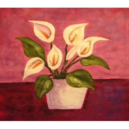 Νικολάι Σολακόφ - Η ροζ μέρα 1 - 80x80 cm (ΧΩΡΙΣ ΤΕΛΑΡΟ)