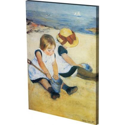 Κασάτ - Παιδιά που Παίζουν στην Παραλία