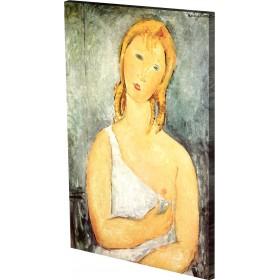 Μοντιλιάνι - Κορίτσι με Λευκό Πουκάμισο