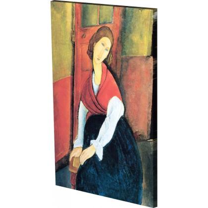 Μοντιλιάνι - Η Ζαν με το Βιβλίο