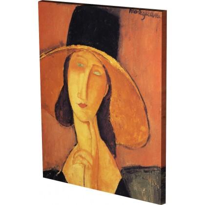 Μοντιλιάνι - Γυναίκα με Καπέλο