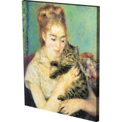 Ρενουάρ - Η Γυναίκα με τη Γάτα