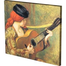 Ρενουάρ - Ισπανίδα με Κιθάρα