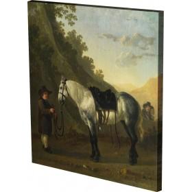 Abraham van Calraet - A Boy ho