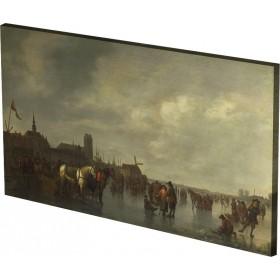 Abraham van Calraet - Scene on