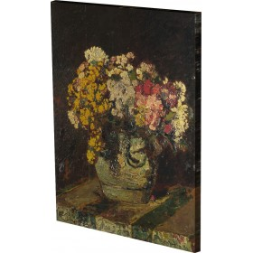 Adolphe Monticelli - A Vase of