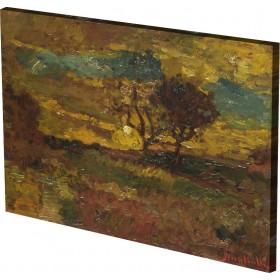 Adolphe Monticelli - Sunrise
