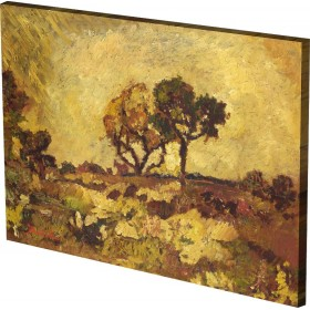 Adolphe Monticelli - Sunset