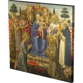 Benozzo Gozzoli - The Virgin a