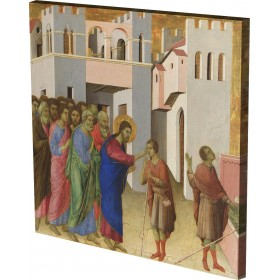 Duccio - Jesus opens the Eyes