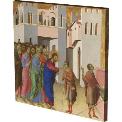 Duccio - Jesus opens the Eyes