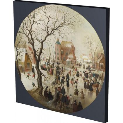 Hendrick Avercamp - A Winter S