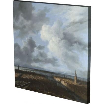 Jacob van Ruisdael - A Panoram