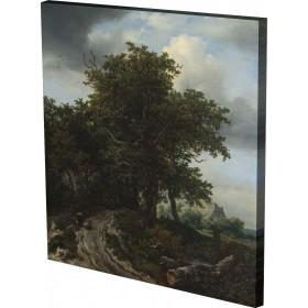 Jacob van Ruisdael - A Road wi