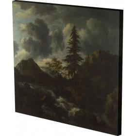 Jacob van Ruisdael - A Torrent