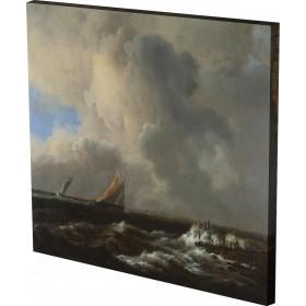 Jacob van Ruisdael - Vessels i