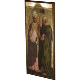 Masolino - A Pope (Saint Gregory) and Saint Matthias