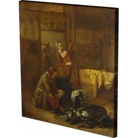 Pieter de Hooch - A Man with D