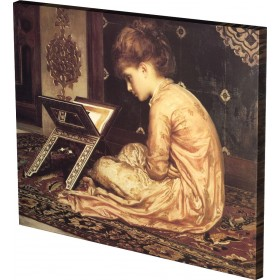 LEIGHTON - STUDY  AT A READING