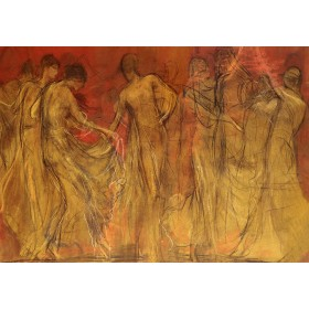Νικόλαος Γύζης - Ο Χορός των Μουσών
