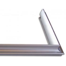 Κορνίζα αλουμινίου - D93-F (Ασημί)