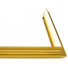 Κορνίζα αλουμινίου - D93-X (Χρυσαφί)