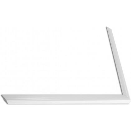 Κορνίζα Λευκή πάχους 1,3cm