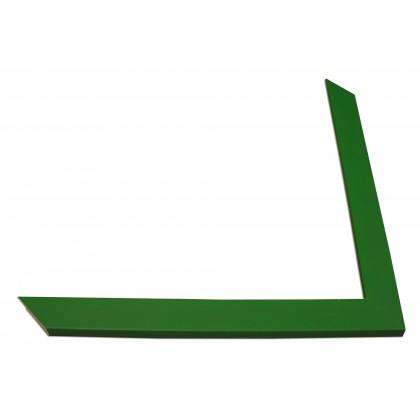 Κορνίζα Πράσινη πάχους 2,5cm