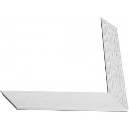 Κορνίζα Λευκή πάχους 4,2cm