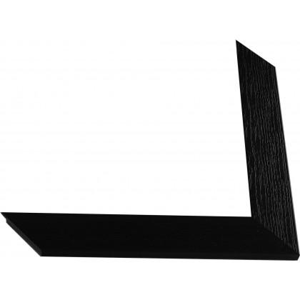 Κορνίζα Μαύρη ανάγλυφη πάχους 4,2cm
