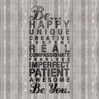 Be happy..