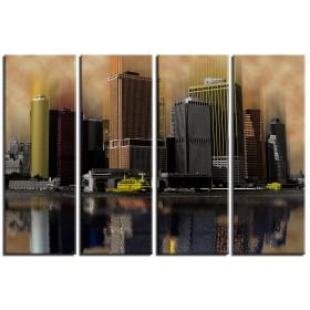 Φωτο ζωγραφικό - Νέα Υόρκη 5