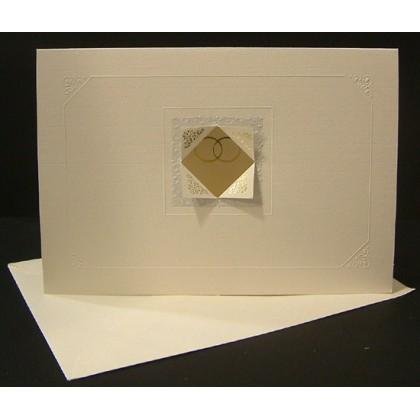 Προσκλητήριο Γάμου 13.5x19.5cm