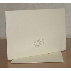 Προσκλητήριο Γάμου 12x17cm