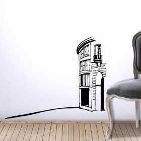 Κτίριο-σπίτι
