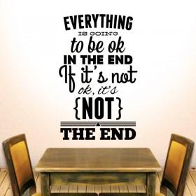 Όλα είναι εντάξει στο τέλος .... !!!