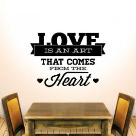 Η αγάπη είναι τέχνη...!!!
