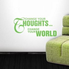 Αλλάξτε τις σκέψεις σας..!