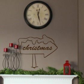 Πινακίδα Χριστούγεννα