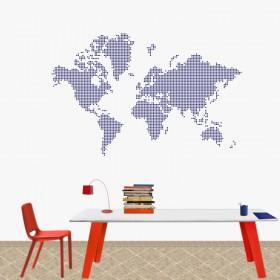 Παγκόσμιος Χάρτης από κουκκίδες