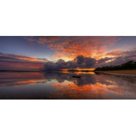 Ηλιοβασίλεμα με Σύννεφα