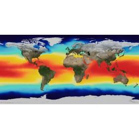 Χάρτης Θερμοκρασιών Θαλασσών